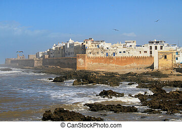 Fishermen's village of Esssaouira, Morocco