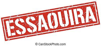Essaouira red square stamp