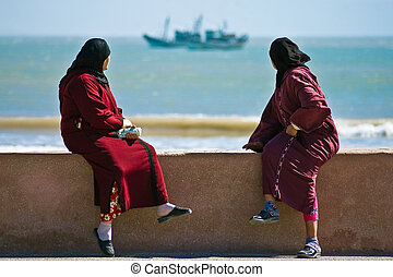 Essaouira's atlantic coast