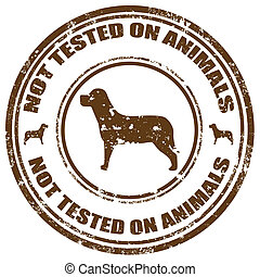 essayé, pas, animals-stamp