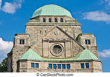 essen, viejo, sinagoga