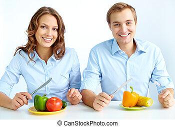 essen zusammen