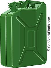 essence, boîte métallique, métal