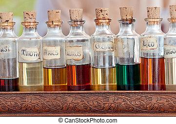 essenciais, aroma