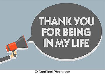essendo, foto, segno, qualcuno, messaggio, tuo, altoparlante, ringraziare, discorso, presa a terra, testo, concettuale, lei, megafono, bolla, parlante, amare, loud., esposizione, uomo, life., mio, lato