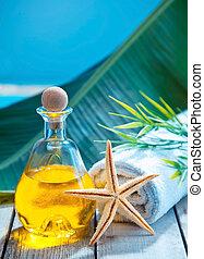 Essential oil aromatherapy treatment
