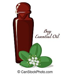 Essential oil of Bay