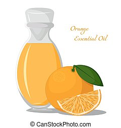 Essential oil of orange