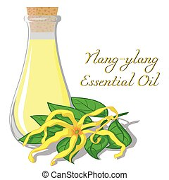 Essential oil of ylang-ylang