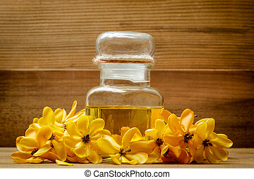 Essential oil with yellow gardenia flowers for aroma massage essential oil with yellow gardenia flowers for aroma massage mightylinksfo