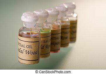Essential oils assortment