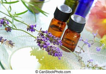 aromatherapy - essential oils for aromatherapy treatment