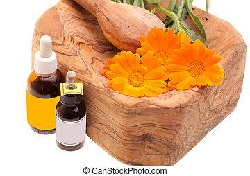 Essential Oils From Calendula (Calendula Officinalis)