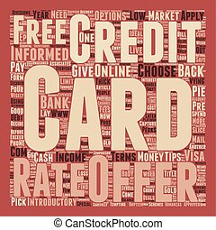 Essential tips on how to get a credit card text background wordcloud concept