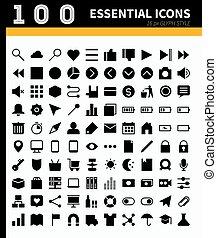 Essential web,app icons