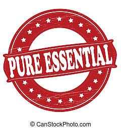 essenziale, puro