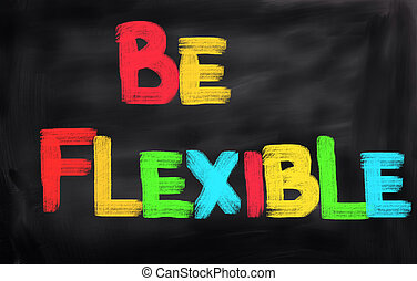 essere, concetto, flessibile