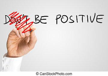 essere, positivo