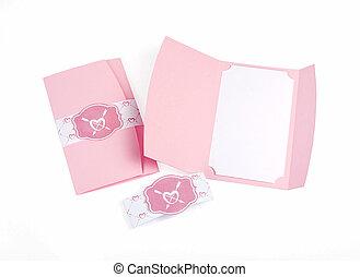 essere, usato, romantico, set., inviti, disegno, scheda, cartoline