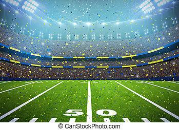 estádio americano futebol, fundo