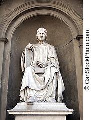 estátua, de, arnolfo, di, cambio