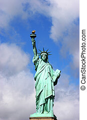 estátua, liberdade
