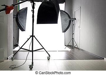 estúdio foto, vazio