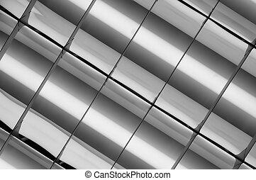 est lux - part of office ceiling fluorescent lamp showed...