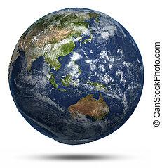 est, mappa mondo