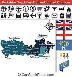 est, royaume-uni, angleterre, sud, berkshire