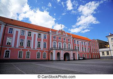 est, tallinn, parlamento, estonia.