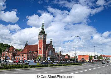 estação de comboios, gdansk