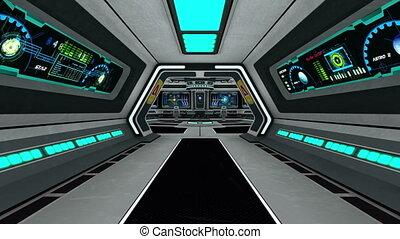 estação, espaço