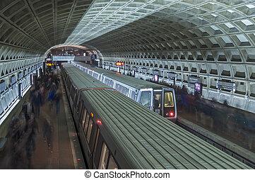 estação, metro