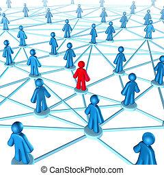 establecimiento de una red, éxito