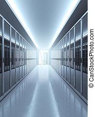 establecimiento de una red, concepto, computadora