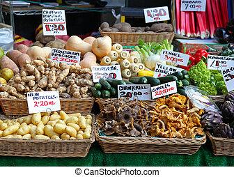 establo, mercado