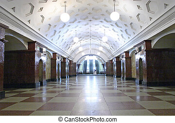 estación de subterráneo, 4