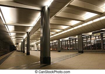 estación de subterráneo, 5