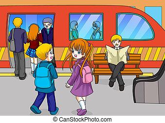 estación de subterráneo