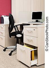 estación de trabajo, computadora