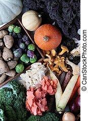 estacional, vegetales