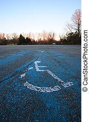 estacionamento handicapped
