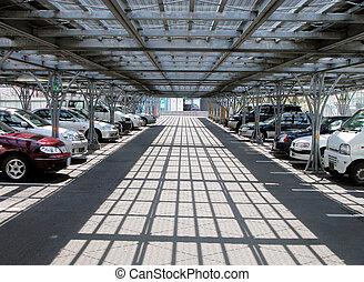 estacionamiento, coches