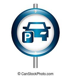 estacionamiento, diseño