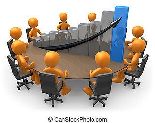 estadística, reunión