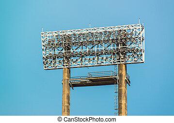 estadio, luces