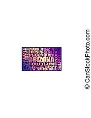 estado arizona, cidades
