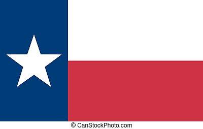 estado, bandeira texas, nós
