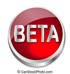 estado, botón, beta